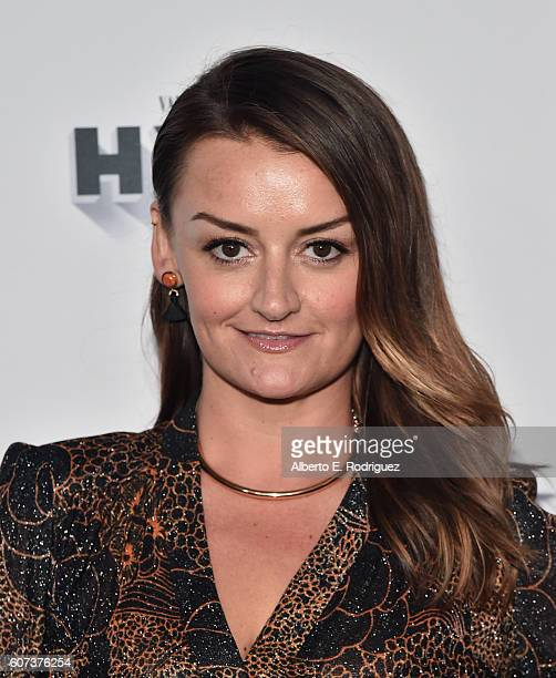 Actress Alison Wright attends the Vanity and FX Annual Primetime Emmy Nominations Party at Craft Restaurant on September 17 2016 in Beverly Hills...