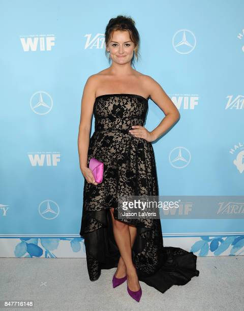 Actress Alison Wright attends Variety and Women In Film's 2017 preEmmy celebration at Gracias Madre on September 15 2017 in West Hollywood California