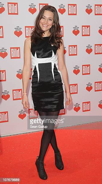 Actress Alissa Jung attends the 'Ein Herz Fuer Kinder' charity gala at Axel Springer Haus on December 18 2010 in Berlin Germany