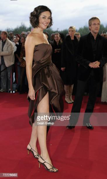 Actress Alissa Jung attends the German Television Awards at the Coloneum October 20 2006 in Cologne Germany