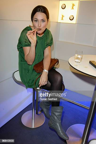 Actress Alissa Jung attends the 'Next Generation' reception during day eight of the 60th Berlin International Film Festival at the Golden Bear Lounge...