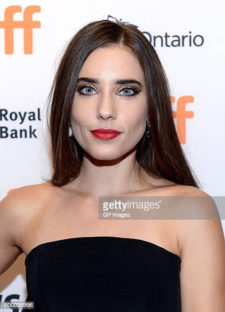 Actress Alix Angelis attends the TIFF Soiree during the 2016 Toronto International Film Festival at TIFF Bell Lightbox on September 7 2016 in Toronto...