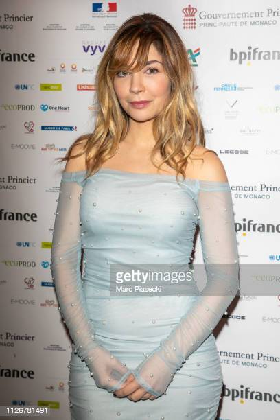 Actress Alix Benezech attends 'Le Temps Presse' Film Festival Closing Ceremony at Publicis Champs Elysees on February 01 2019 in Paris France