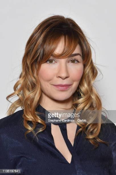 Actress Alix Benezech attends 'Mon Bebe' Paris Premiere at Cinema Gaumont Opera on March 11 2019 in Paris France