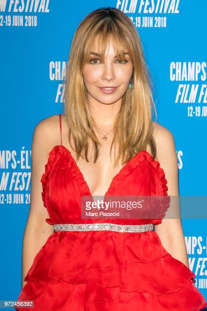 Actress Alix Benezech attends the 7th Champs Elysees Film Festival at Cinema Gaumont Marignan on June 12 2018 in Paris France