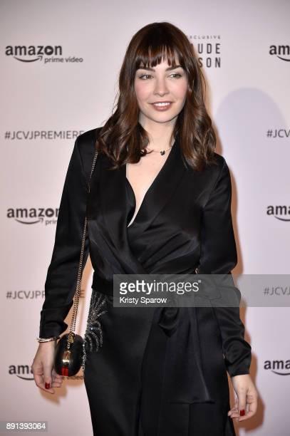 Actress Alix Benezech attends the Amazon TV series 'Jean Claude Van Johnson' Premiere at Le Grand Rex on December 12 2017 in Paris France
