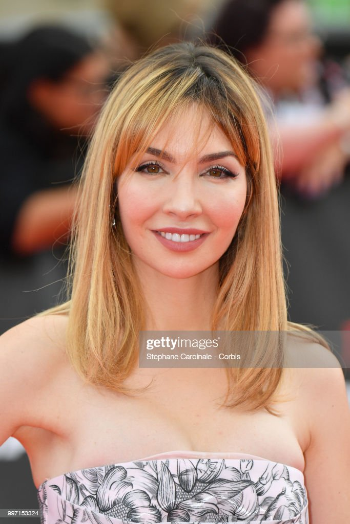Actress Alix Benezech attends the Mission: Impossible