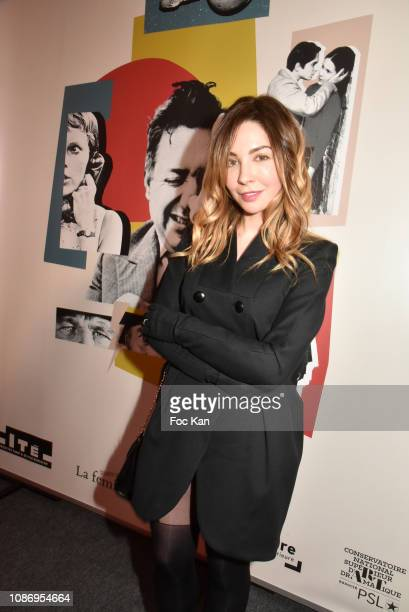 Actress Alix Benezech attends The Prix Henri Langlois 2019 on January 22 2019 in Paris France