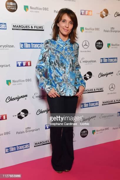Actress Alix Poisson attends the 26th Trophees Du Film Francais Photocall at Palais Brongniart on February 05 2019 in Paris France