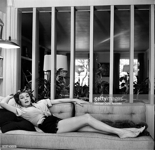 Actress Alix Talton poses at home in Los AngelesCA