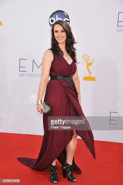 Actress Alixandra Von Renner arrives at the 64th Annual Primetime Emmy Awards held at the Nokia Theater LA Live