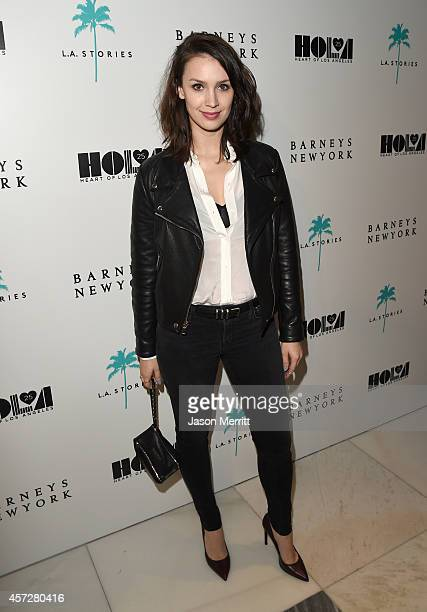 Actress Alixandra von Renner attends a cocktail event with Barneys New York and HOLA to celebrate the newly renovated Beverly Hills Flagship Store at...