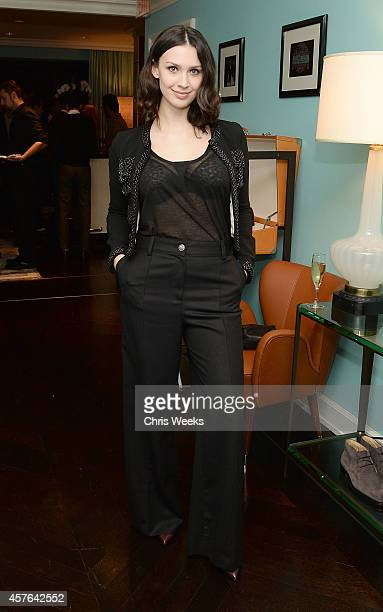 Actress Alixandra von Renner attends a cocktail party hosted by Details at Tod's JP Club on October 21 2014 in Beverly Hills California