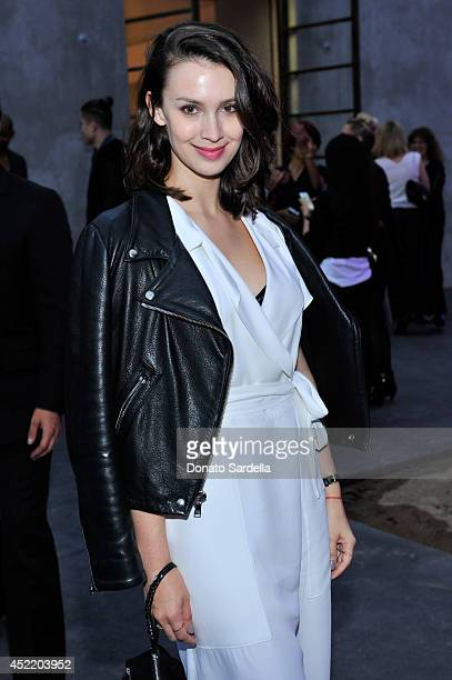 Actress Alixandra von Renner attends Dior and Maxfield Celebrate the Launch of Winter 2014 Dior Fusion Sneaker Collection with a Cocktail Party at...
