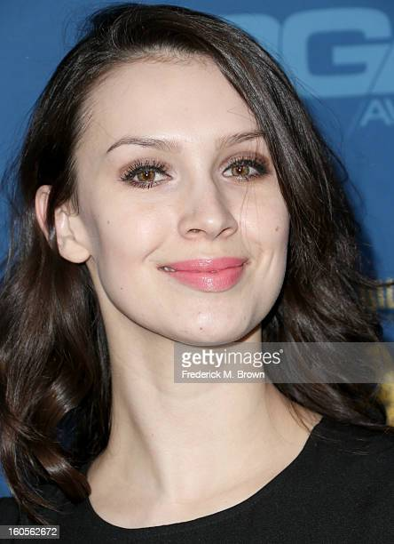 Actress Alixandra von Renner attends the 65th Annual Directors Guild Of America Awards at Ray Dolby Ballroom at Hollywood Highland on February 2 2013...