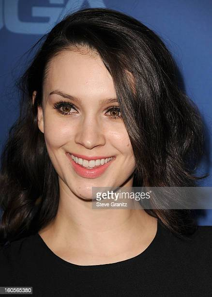 Actress Alixandra von Renner attends the 65th Annual Directors Guild Of America Awards at The Ray Dolby Ballroom at Hollywood Highland Center on...