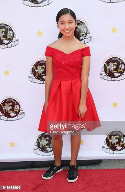 Actress Aliyah Conley attends the 3rd Annual Young Entertainer Awards at The Globe Theatre on April 15 2018 in Universal City California