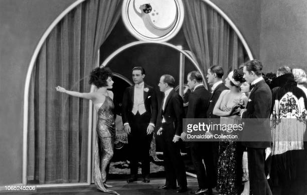 Actress Alla Nazimova in a scene from the movie 'Camille'