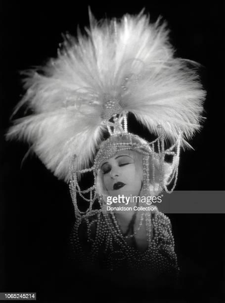 Actress Alla Nazimova in a scene from the movie 'Salome'