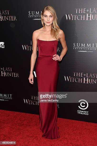 Actress Allegra Carpenter attends the New York premiere of The Last Witch Hunter at AMC Loews Lincoln Square on October 13 2015 in New York City