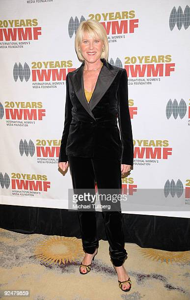 Actress Alley Mills arrives at the 2009 International Womens Media Foundation's 'Courage In Journalism' Awards held at the Beverly Hills Hotel on...