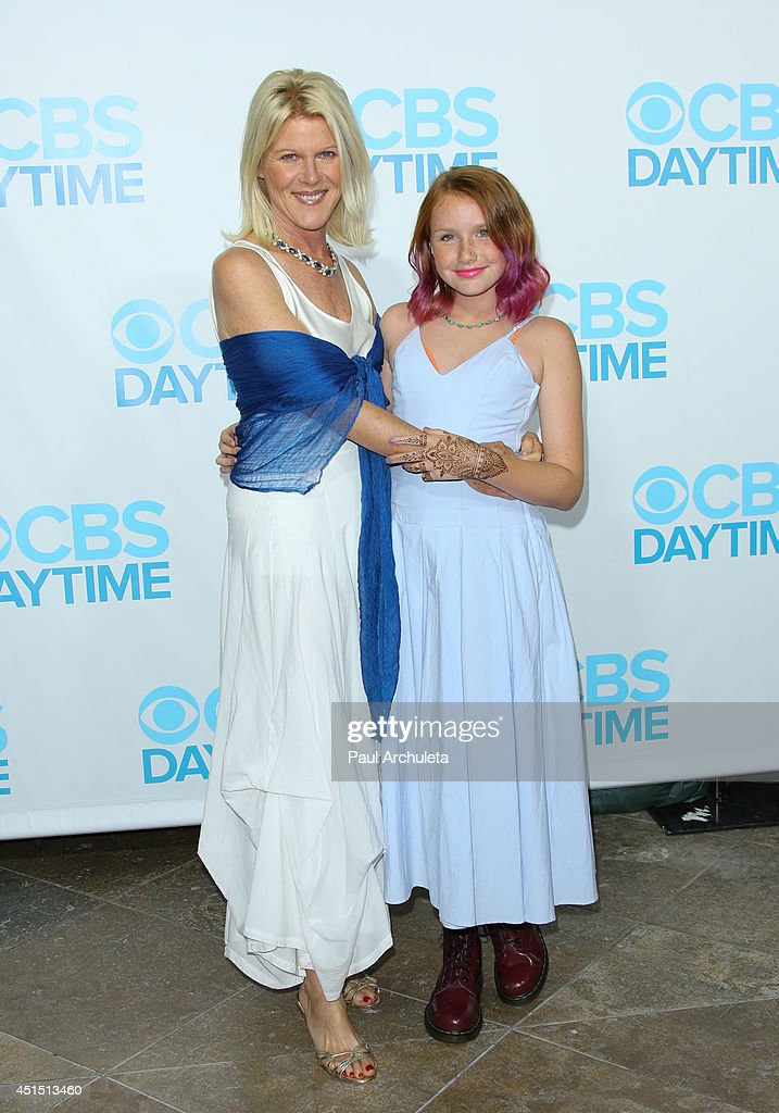 Actress Alley Mills (L) attends the 41st Annual Daytime Emmy Awards CBS after party at The Beverly Hilton Hotel on June 22, 2014 in Beverly Hills, California.