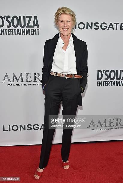 Actress Alley Mills attends the premiere of Lionsgate Films' America at Regal Cinemas LA Live on June 30 2014 in Los Angeles California