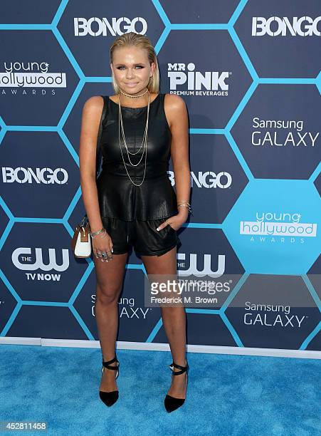 Actress Alli Simpson attends the 2014 Young Hollywood Awards brought to you by Samsung Galaxy at The Wiltern on July 27 2014 in Los Angeles California