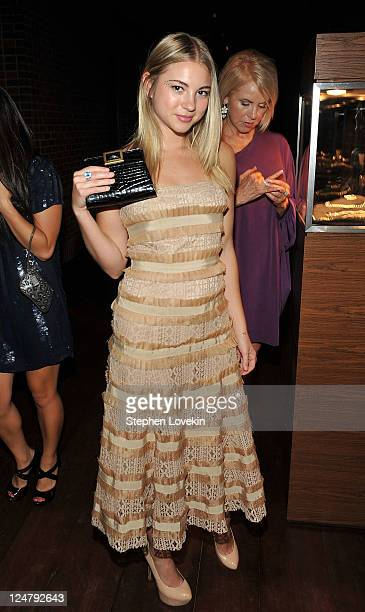Actress Allie Gonino attends the premiere of The Weinstein Company's I Don't Know How She Does It after party sponsored by QVC Palladium Jewelry at...