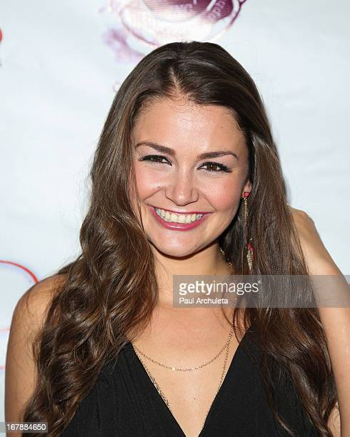 Actress Allie Haze attends the Los Angeles premiere of 'Aroused' at the Landmark Theater on May 1 2013 in Los Angeles California