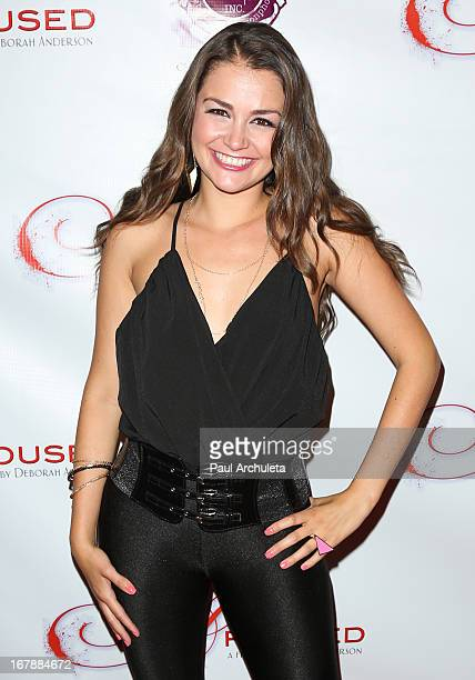 Actress Allie Haze attends the Los Angeles premiere of Aroused at the Landmark Theater on May 1 2013 in Los Angeles California
