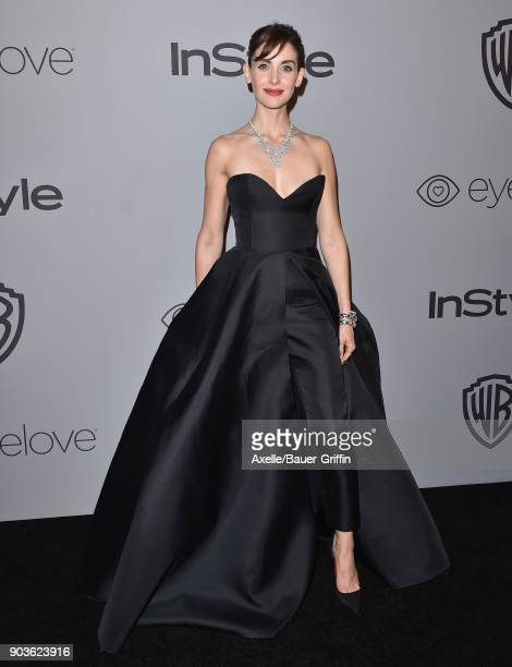 Actress Allison Brie attends the 19th Annual PostGolden Globes Party hosted by Warner Bros Pictures and InStyle at The Beverly Hilton Hotel on...