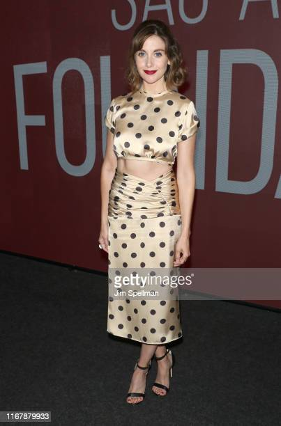 Actress Allison Brie attends the SAGAFTRA Foundation Conversations Glow at The Robin Williams Center on August 13 2019 in New York City