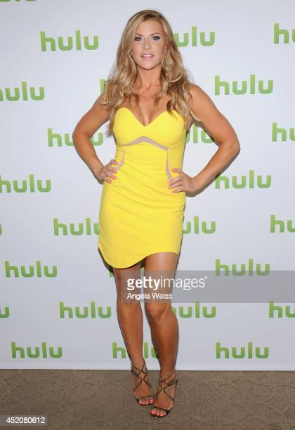 Actress Allison Dunbar attends Hulu's TCA Presentation And Cocktail Party at The Beverly Hilton Hotel on July 12 2014 in Beverly Hills California