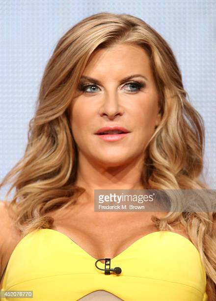 Actress Allison Dunbar speaks onstage at the Quick Draw panel during the Hulu portion of the 2014 Summer Television Critics Association at The...