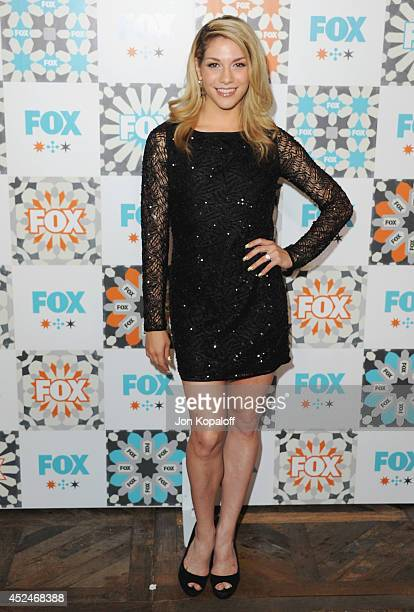 Actress Allison Holker arrives at the FOX All-Star Party 2014 Television Critics Association Summer Press Tour at Soho House on July 20, 2014 in West...
