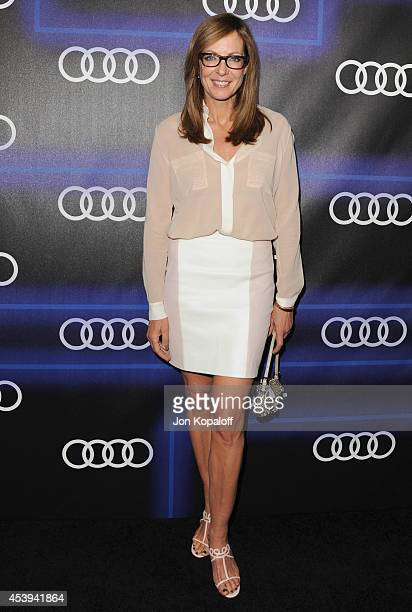 Actress Allison Janney arrives at Audi Emmy Week Celebration at Cecconi's Restaurant on August 21 2014 in Los Angeles California