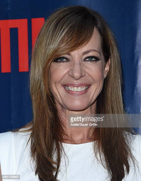 Actress Allison Janney arrives at CBS, CW And Showtime 2015 Summer TCA Party at Pacific Design Center on August 10, 2015 in West Hollywood,...