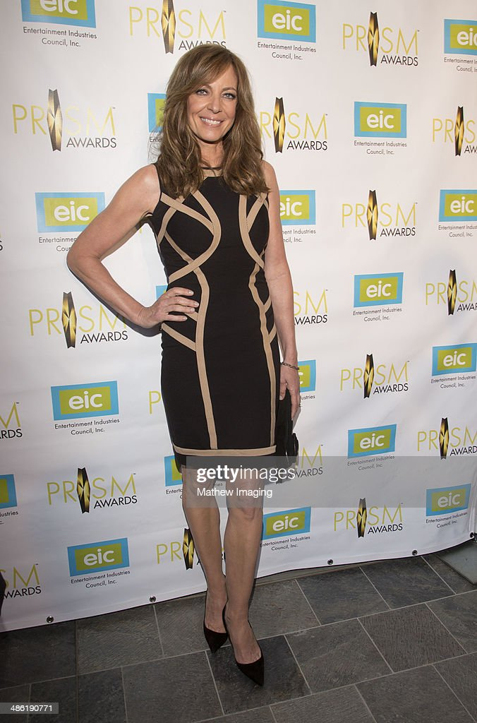 Actress Allison Janney arrives at the 18th Annual PRISM Awards at Skirball Cultural Center on April 22, 2014 in Los Angeles, California.