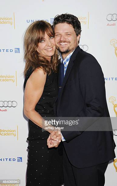 Actress Allison Janney arrives at the Television Academy's 66th Emmy Awards Performance Nominee Reception at the Pacific Design Center on Saturday...