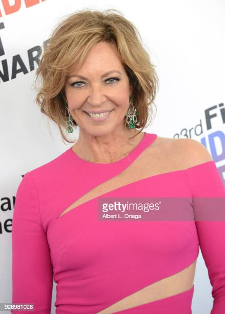 Actress Allison Janney arrives for the 2018 Film Independent Spirit Awards on March 3 2018 in Santa Monica California