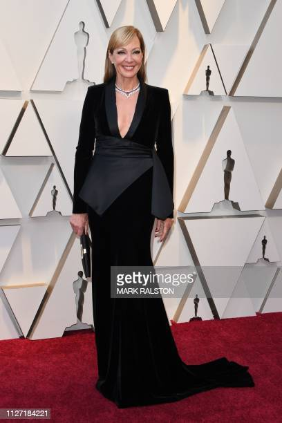 US actress Allison Janney arrives for the 91st Annual Academy Awards at the Dolby Theatre in Hollywood California on February 24 2019