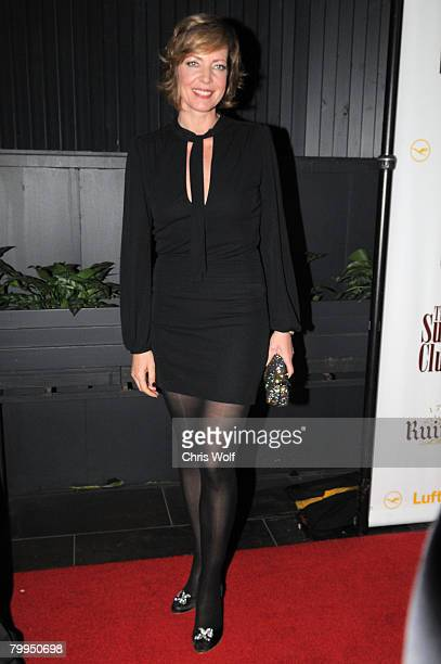Actress Allison Janney at STK LA on February 22 2008 in Los Angeles California
