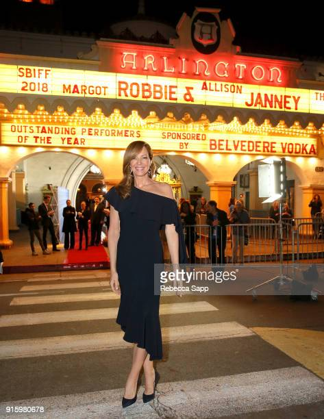Actress Allison Janney at the Outstanding Performers Honoring Margot Robbie and Allison Janney Presented By Belvedere Vodka during The 33rd Santa...