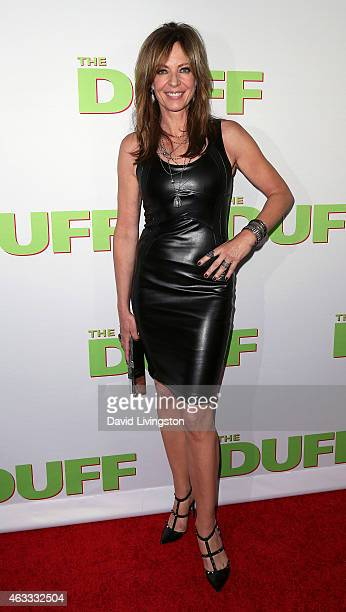 Actress Allison Janney attends a fan screening of CBS Films' The Duff at TCL Chinese 6 Theatres on February 12 2015 in Hollywood California