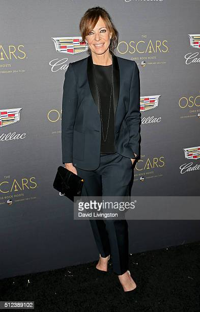 Actress Allison Janney attends Cadillac's PreOscar Event at Chateau Marmont on February 25 2016 in Los Angeles California
