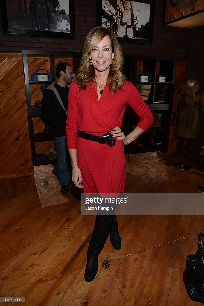 Actress Allison Janney attends Day 2 of UGG at Village At The Lift 2013 on January 19, 2013 in Park City, Utah.