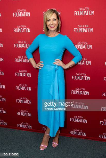 Actress Allison Janney attends SAGAFTRA Foundation Conversations presents Troop Zero at SAGAFTRA Foundation Screening Room on February 04 2020 in Los...