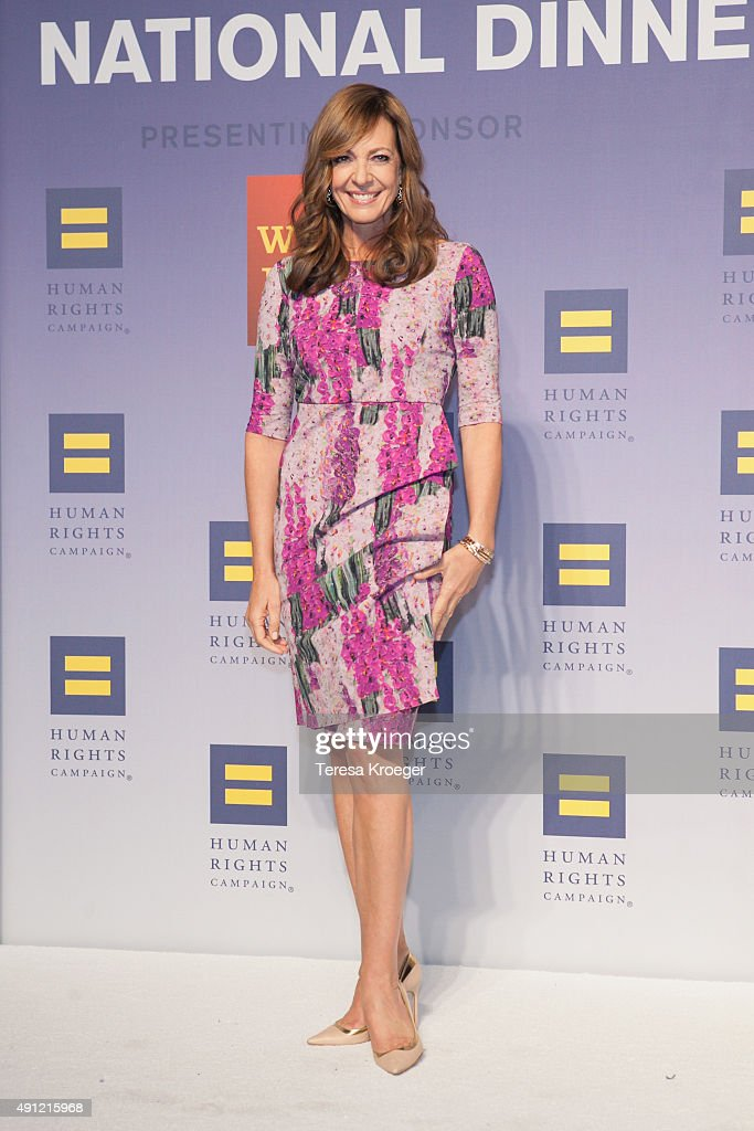 Actress Allison Janney attends the 19th Annual HRC National Dinner at Walter E. Washington Convention Center on October 3, 2015 in Washington, DC.