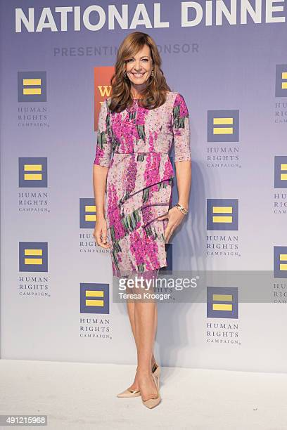 Actress Allison Janney attends the 19th Annual HRC National Dinner at Walter E Washington Convention Center on October 3 2015 in Washington DC